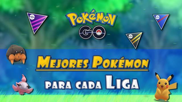 Pokémon GO: Mejores Pokémon para cada Liga de PvP (Super, Ultra y Master)
