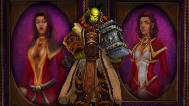 Blizzard sustituye dos cuadros de World of Warcraft por unos menos sexualidados.