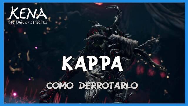 Kappa y cómo derrotarlo en Kena: Bridge of spirits