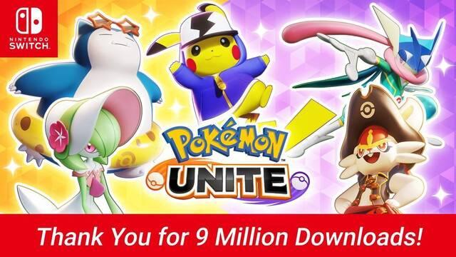 Pokémon Unite consigue más de 9 millones de descargas en Switch