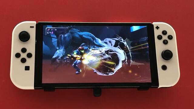 Nintendo Switch OLED se exhibe en varias tiendas de Tokio