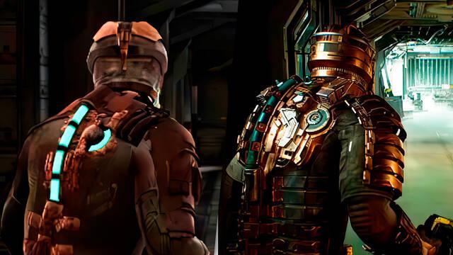 Dead Space comparación remake con original