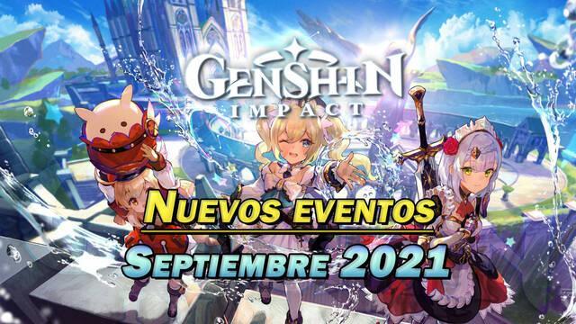 Genshin Impact: Nuevos eventos y gachapón de septiembre 2021