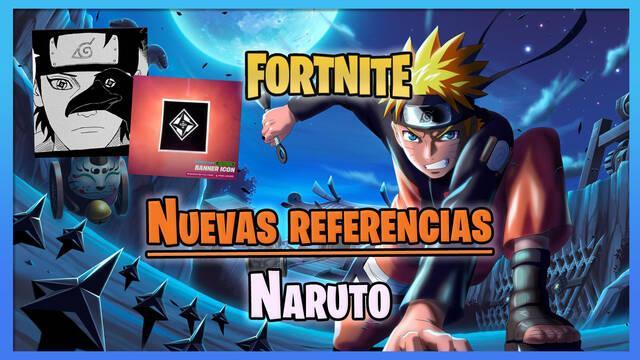 Fortnite: Nuevas referencias de Naruto