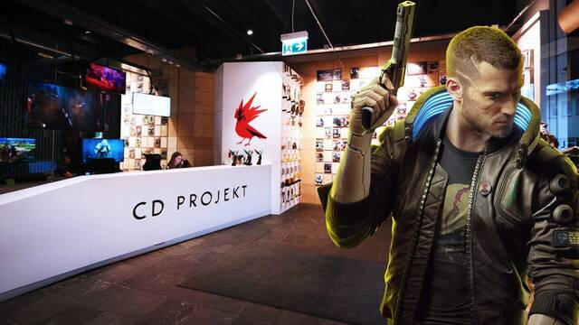 CD Projekt RED y el equipo de Cyberpunk 2077
