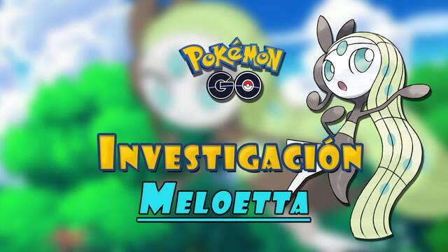 Pokémon GO: Cómo conseguir a Meloetta