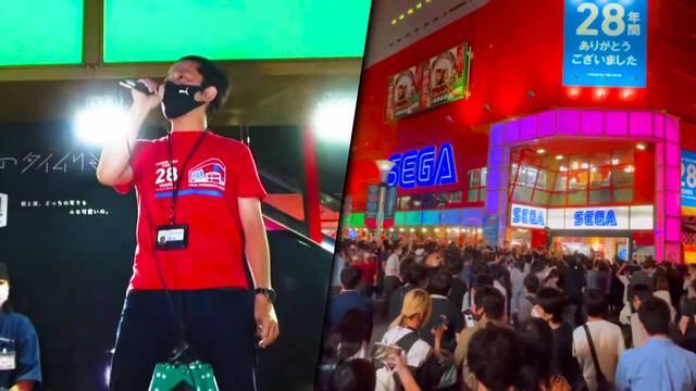 El salón arcade SEGA Ikebukuro Gigo tras 28 años en activo.