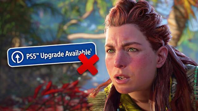 No todas las ediciones de Horizon Forbidden West tendrán actualización gratuita de PS4 a PS5.