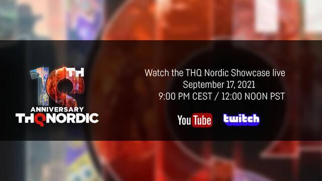 Evento de aniversario de THQ Nordic para el 17 de septiembre.