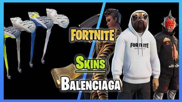 Fortnite: Skins Balenciaga ya disponibles