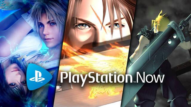 El catálogo de PS Now se amplía con cinco nuevos Final Fantasy.