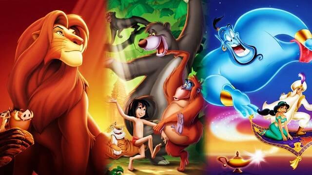 La colección de juegos clásicos de Disney agrega Aladdin y El Rey León