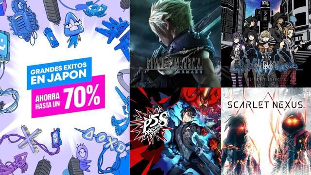 Ofertas PS Stores Grandes éxitos en Japón