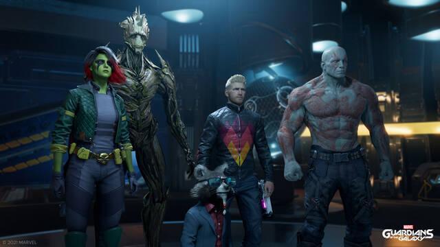 Marvel's Guardians of the Galaxy Deus Ex