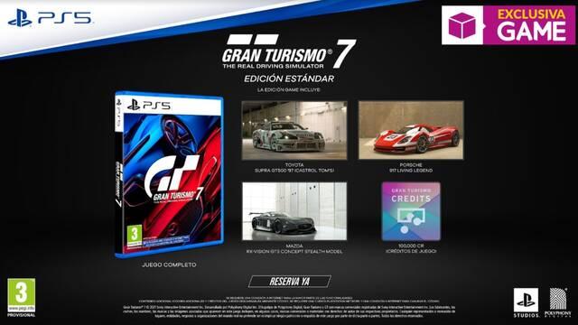 Gran Turismo 7 ya se  puede reservar en GAME.