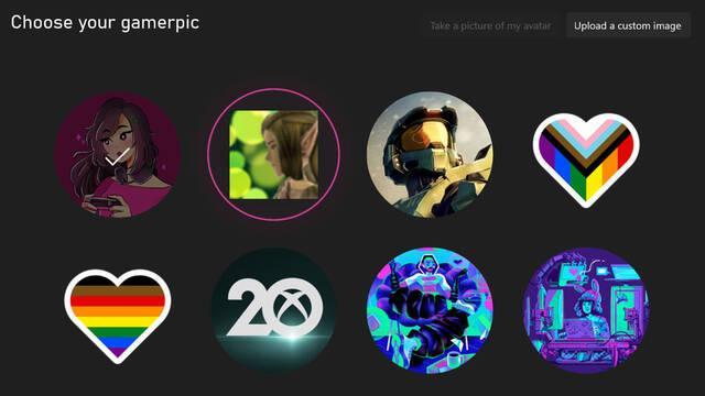 Las imágenes de perfil de Xbox 360 vuelven a Xbox Series X/S.