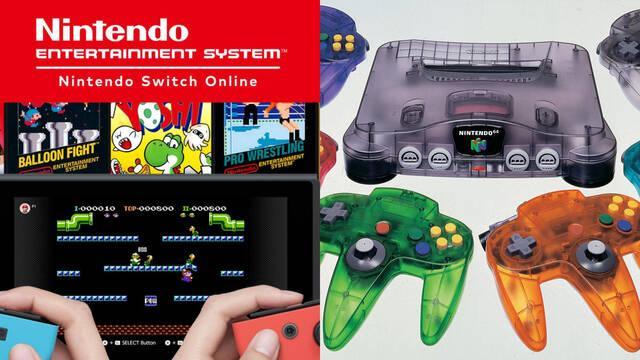 Nintendo Switch mando Nintendo 64