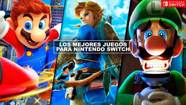 Los MEJORES juegos para Nintendo Switch (2021) - TOP 20