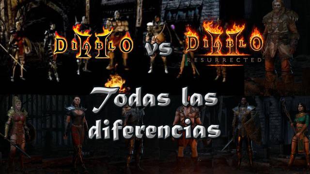 Diablo 2 vs Diablo 2: Resurrected: Cuáles son las diferencias, cambios y mejoras