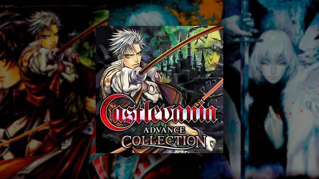 Castlevania Advance Collection con cuatro juegos de Castlevania