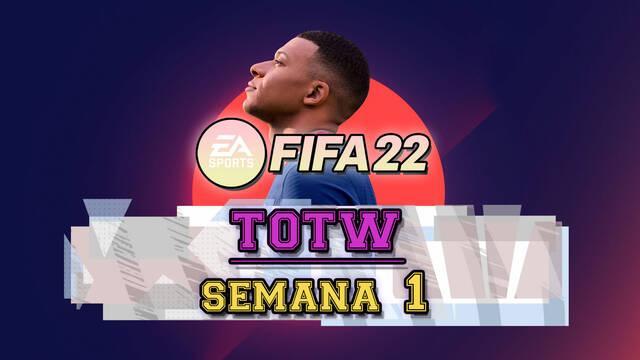 FIFA 22: TOTW 1 ya disponible