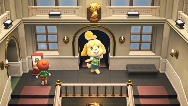 Animal Crossing y la cafetería del museo