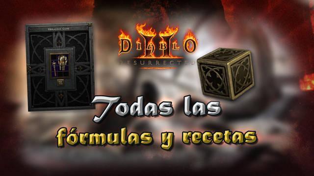 Guía del Cubo Horádrico en Diablo 2 Resurrected: TODAS las fórmulas y recetas