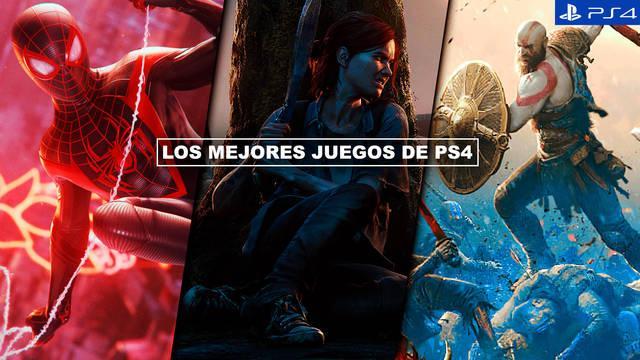 Los MEJORES juegos para PS4 (2021) - TOP 20
