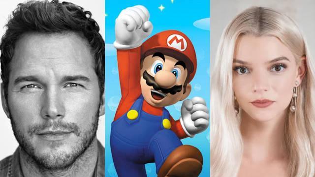 Super Mario Película fecha actores de doblaje