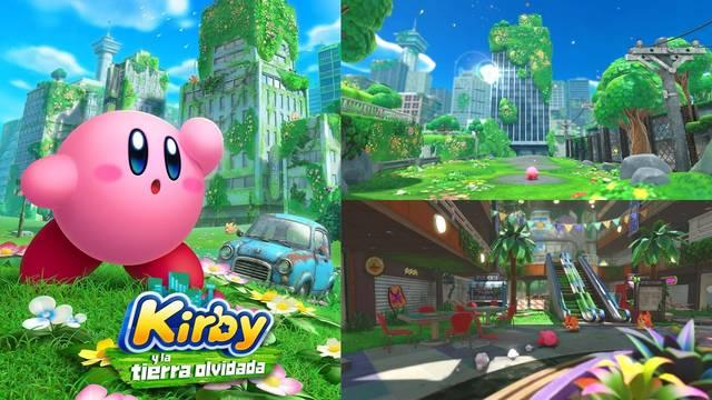 Kirby y la tierra olvidada tráiler anuncio