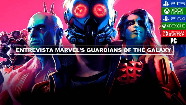 Entrevista Marvel's Guardians of the Galaxy