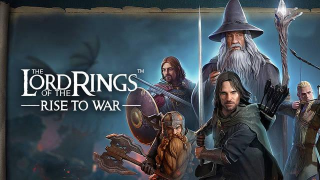 Lord of the Rings: Rise to War ya disponible en iOS y Android.