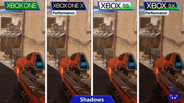 Comparativa de Halo: Infinite en Xbox Series X/S vs Xbox One.