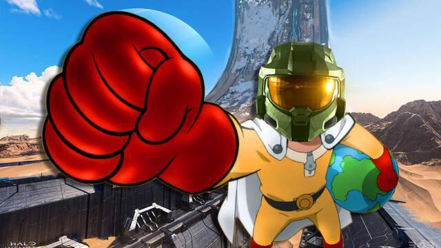 Halo Infinite tiene un divertido bug que permite matar a los enemigos de un puñetazo.