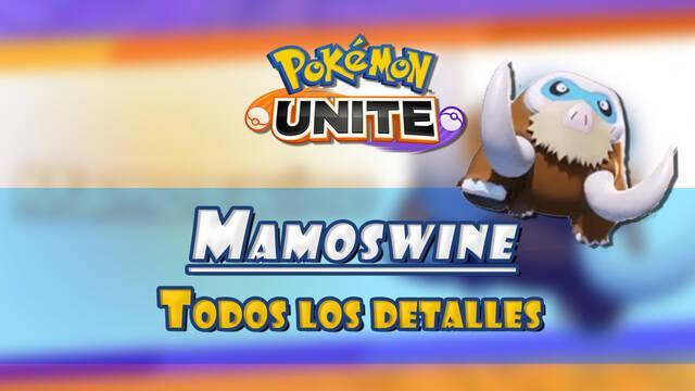 Pokémon Unite: Tráiler de Mamoswine, fecha de lanzamiento y habilidades