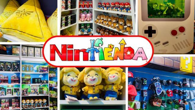 La Nintienda, especializada en sagas de Nintendo, abre sus puertas en Madrid y Barcelona
