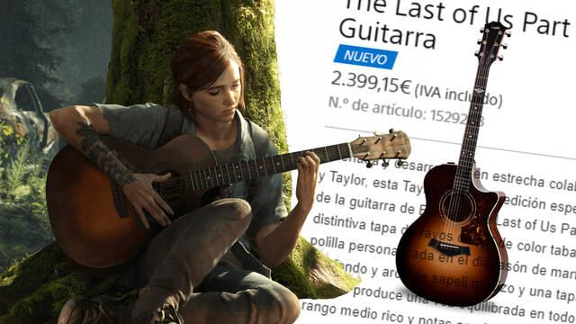 Ya disponible la réplica de la guitarra de Ellie en The Last of Us 2 en Europa.