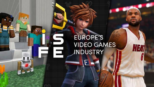 Lista de juegos con 'potencial educativo' según la ISFE.