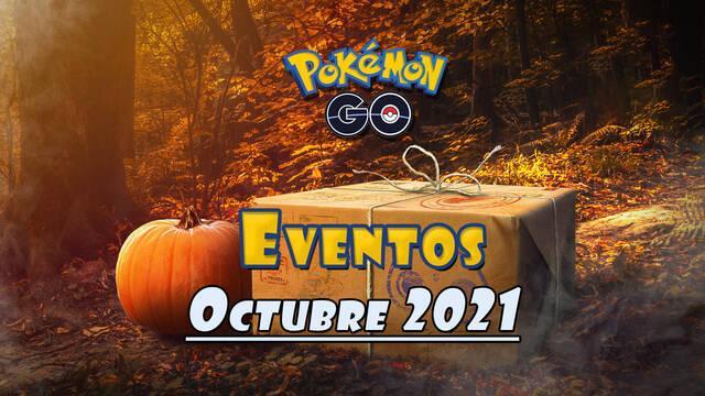 Pokémon GO: Todos los eventos de octubre 2021