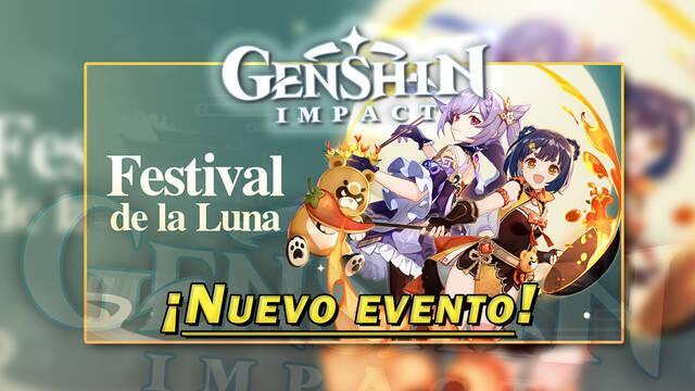 Evento Festival de la Luna en Genshin Impact, todos los detalles y recompensas