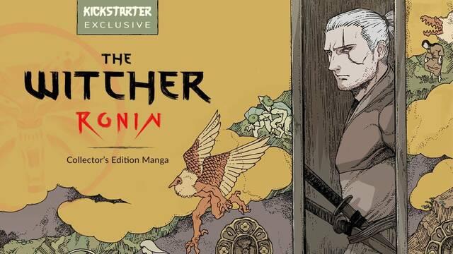 The Witcher: Ronin, el manga de Geralt de Rivia, consigue sus objetivos de crowfounding