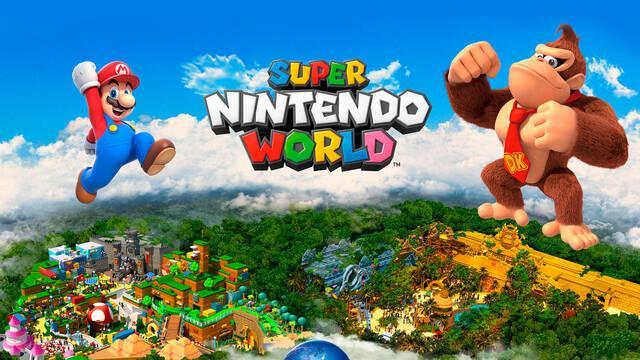 Super Nintendo World zona de Donkey Kong