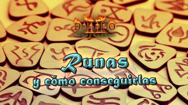 Runas en Diablo 2 Resurrected: listado, cómo conseguirlas y atributos