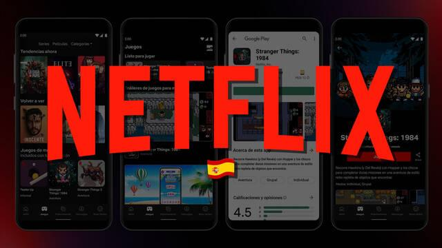 Netflix incluye juegos móviles gratis en su suscripción en España.