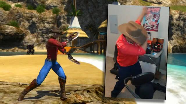 Juega a Final Fantasy 14 bailando gracias a Kinect.