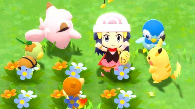 Nuevo tráiler de Pokémon Diamante Brillante y Perla Reluciente.