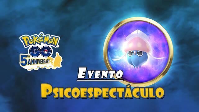 Pokémon GO: evento Psicoespectáculo, todos los detalles