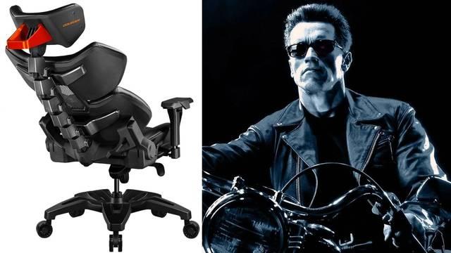 La silla para jugar de Terminator ya está aquí