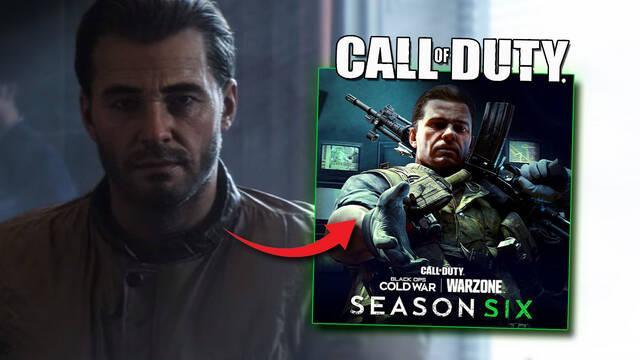 COD Warzone y BOCW: Se filtra la imagen de Mason en la Temporada 6