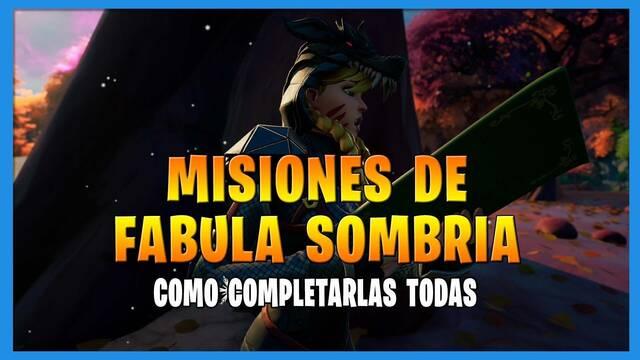 Fortnite T8: TODAS las misiones de Fábula Sombría y cómo completarlas